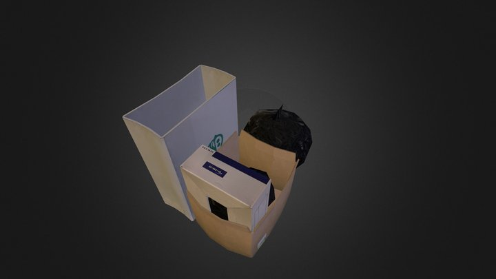 Rubbish box 3D Model