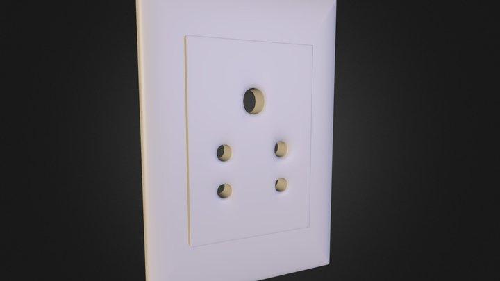 5PinSocket 3D Model