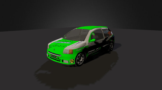 Renault Clio Williams Rally 3D Model