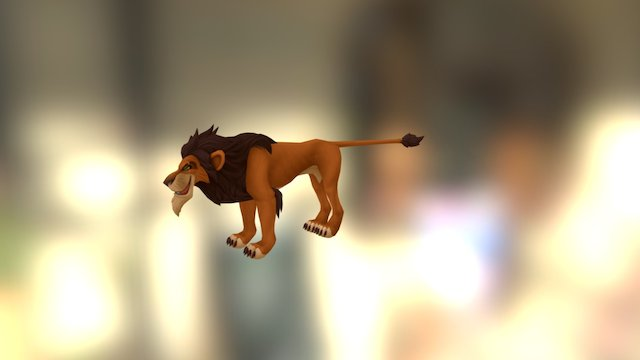 Kingdom Hearts - Scar 3D Model