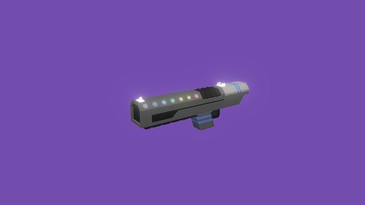 Rainbow W-357X  #WeaponChallenge 3D Model