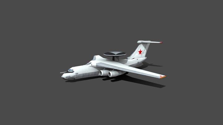 Beriev A50 3D Model
