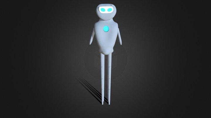Nanotech robot 3D Model
