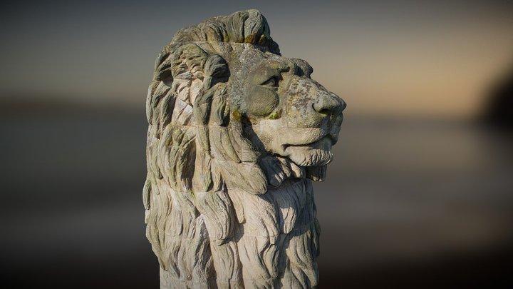Lion de la Gileppe 3D Model