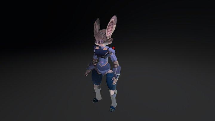 Judy Bot 3D Model