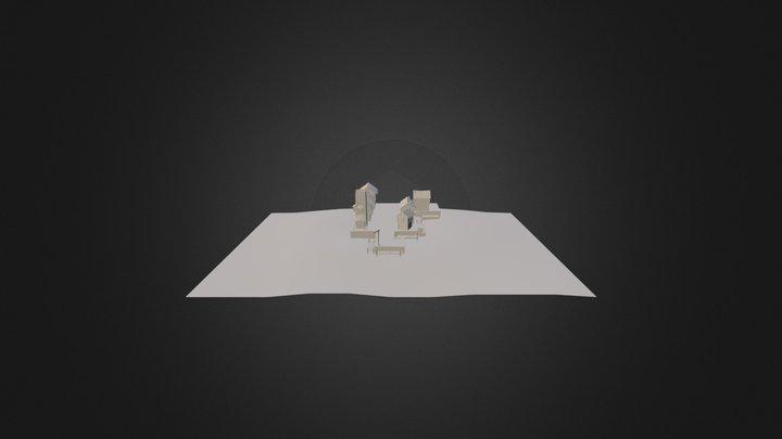 Vilage 3D Model