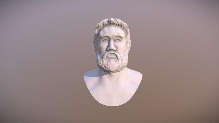 Hi Rez Head Sculpt 3D Model