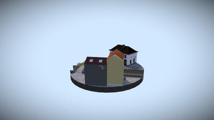 1DAE07 Coeckelbergh Tom City Scene 3D Model