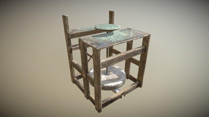potter's wheel 3D Model