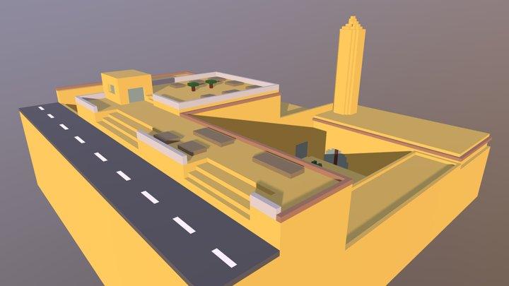 Şehidiye Camii 3D Model