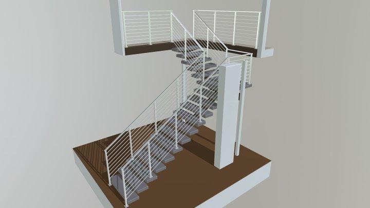 Interior Rails Maretti 3D Model