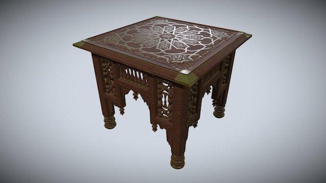 Egyptian Table 3D Model