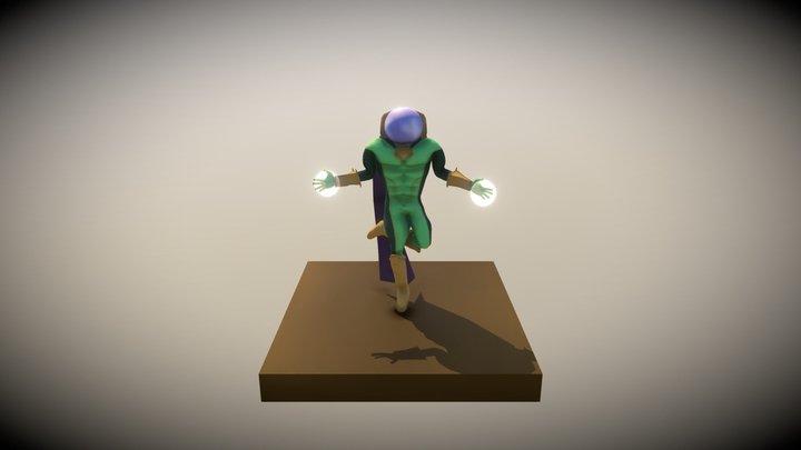 Mistério Marvel 3D Model