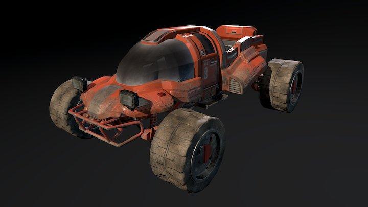 SpaceBuggy 3D Model
