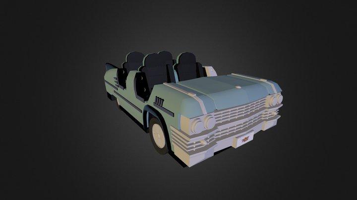 Cadillac Aerosmith 3D Model