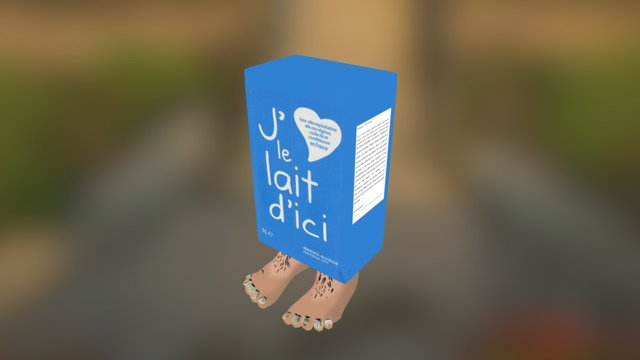 milk 3D Model