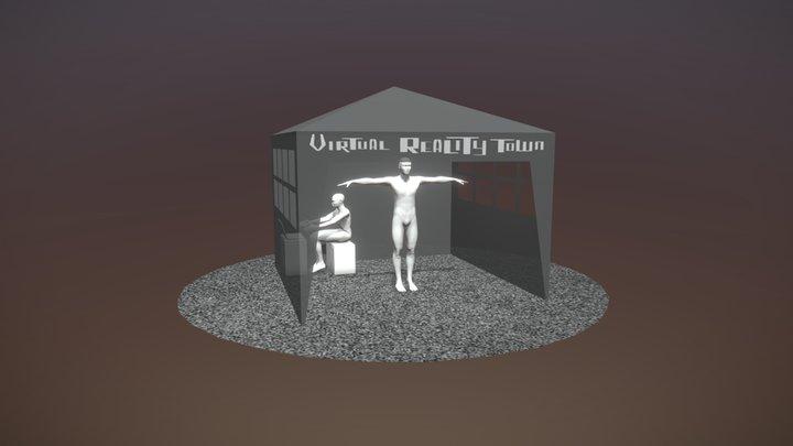 Virtual Reality Arcade 3D Model