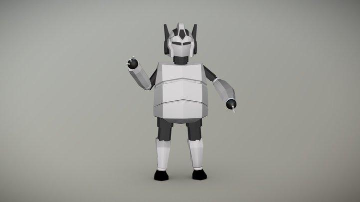 Robot A 3D Model