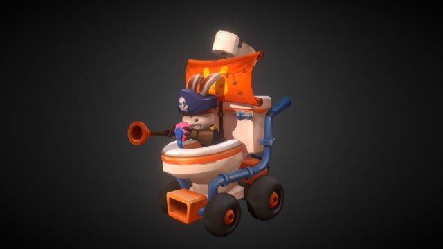 The Porta-Potty 3D Model