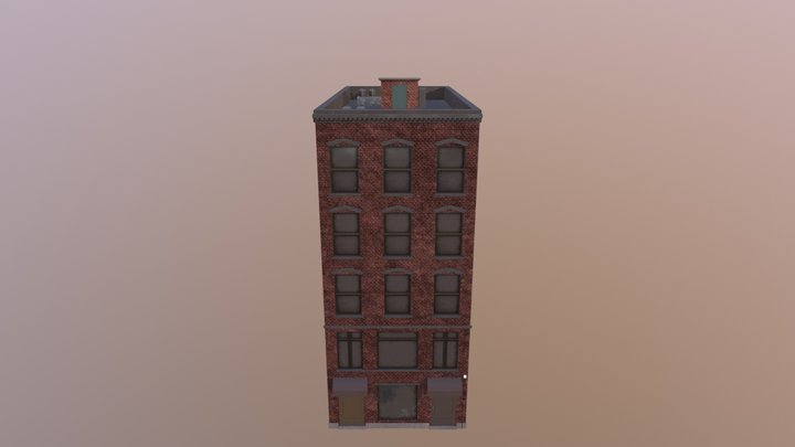 Old Building NYC 3D Model