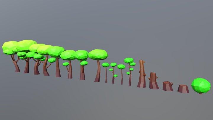 Vegetation - Makao Island (Game) 3D Model
