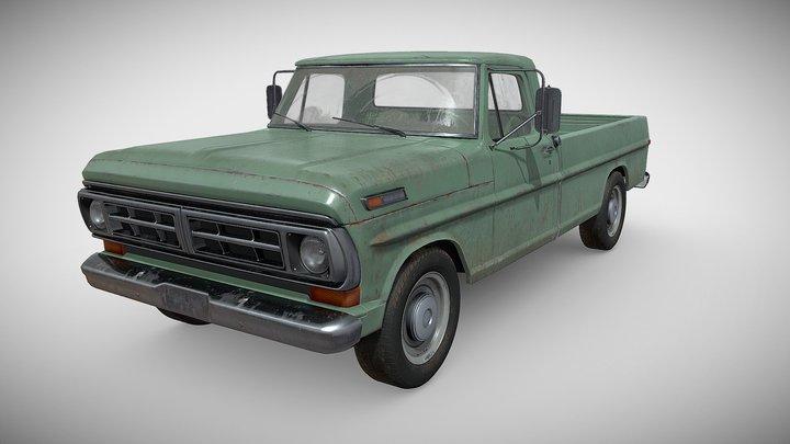 Ford Pickup F100 3D Model