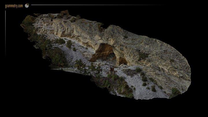 MARBRE SAILLON - GALERIES - MOY/MID RESOLUTION 3D Model