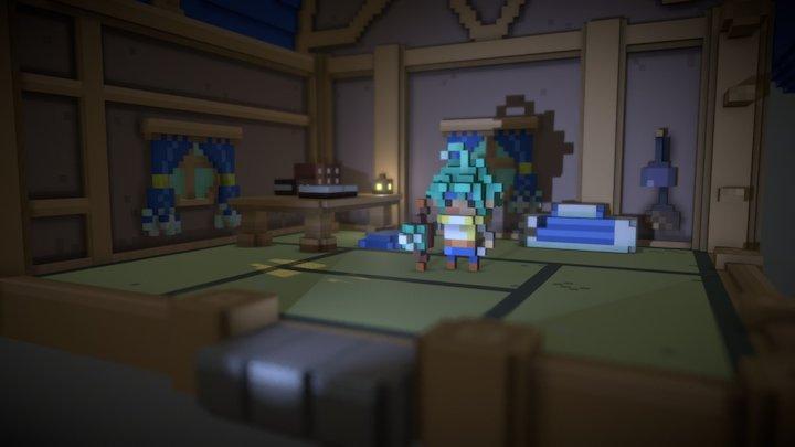 Room_布库尔 3D Model