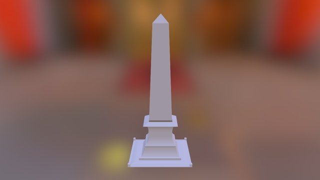 Obelisco 3D Model