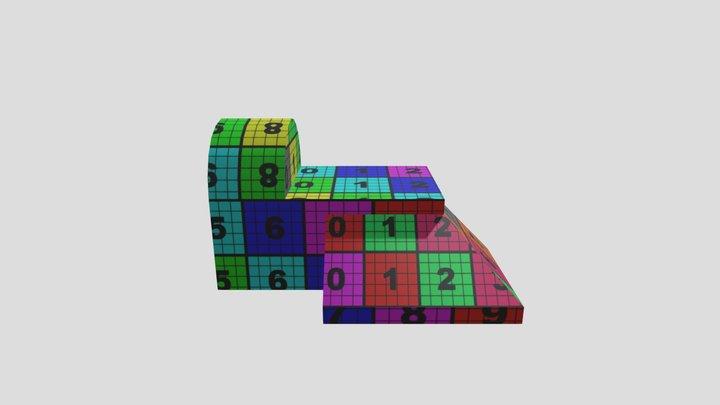UV Model 3D Model
