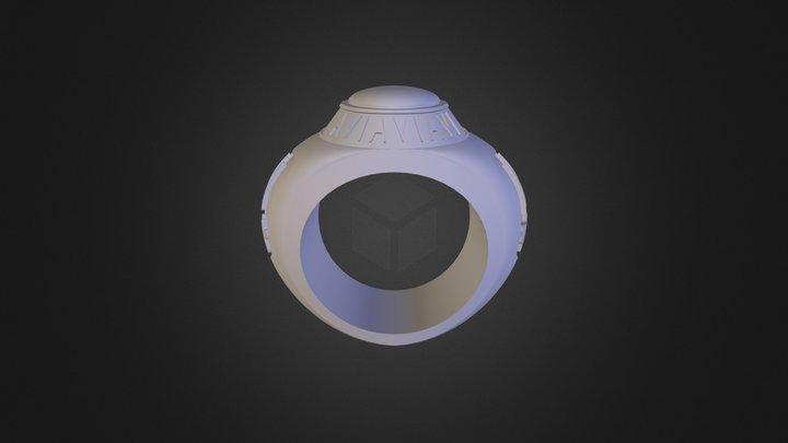 טבעת נרקסיסטית 3D Model
