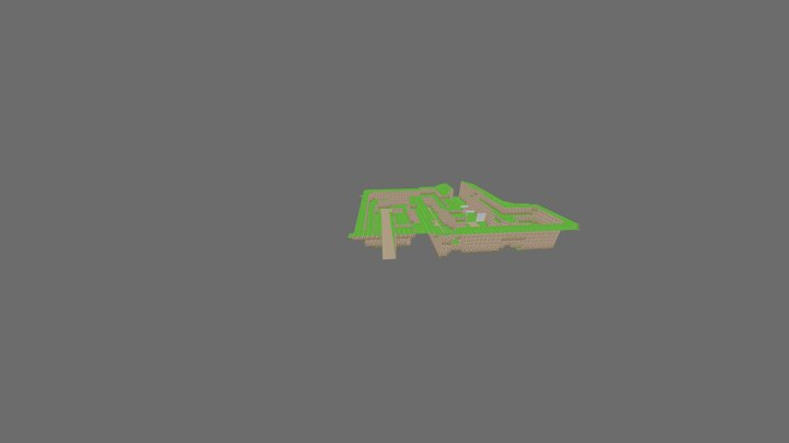 Area 2 Forest Path 3D Model