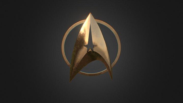 Star Trek for 3D print SmoothC 3D Model