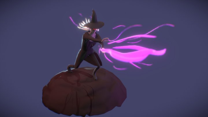 The Witch 3D Model