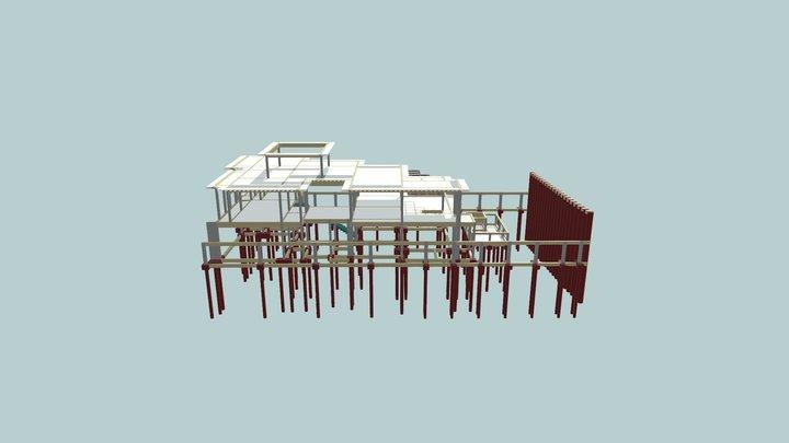 3D Estrutura Rafael e Karen 3D Model