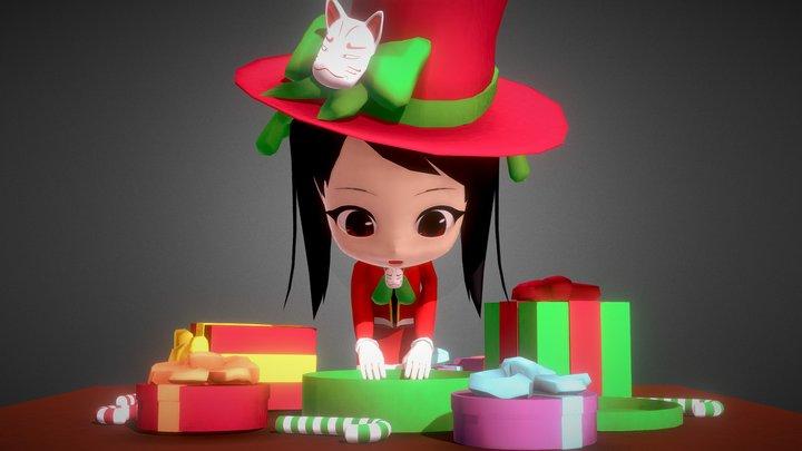 Tomoka December 2017 3D Model