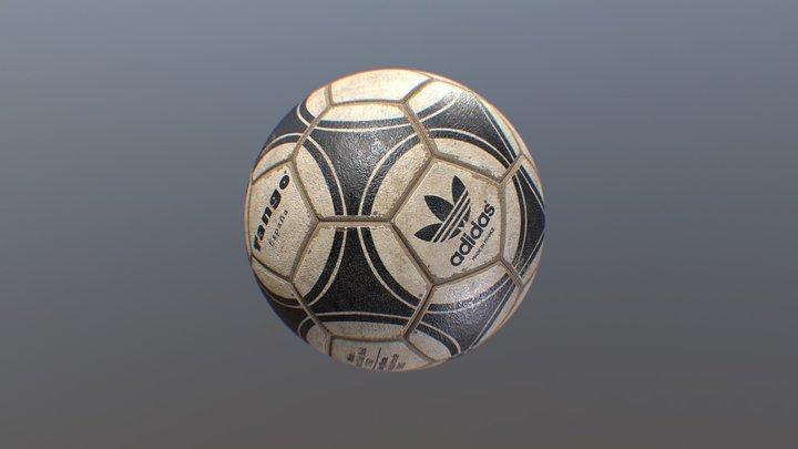 Vintage Soccer Ball (Adidas Tango 1982) 3D Model
