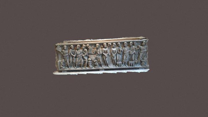 Late Roman Empire Sarcophagus 3D Model