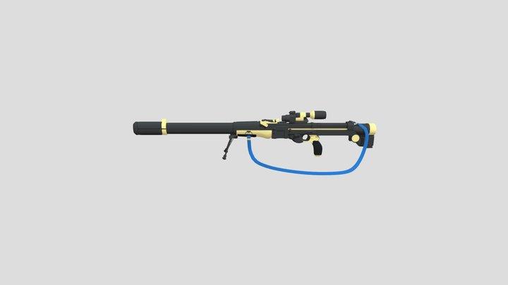 Percussion Rifle 3D Model
