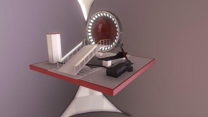 Stargate Scene 3D Model
