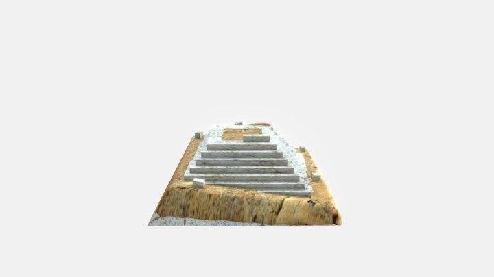 Ancient Egypt | Pyramid Construction 3D Model