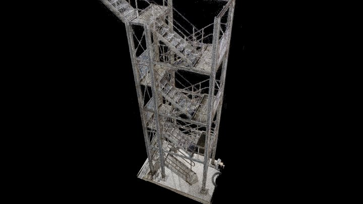 Steel Work 3D Model