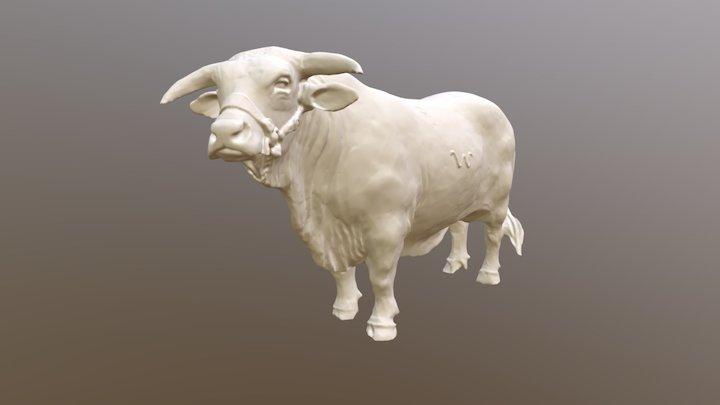 Bull Ornament 3D Model