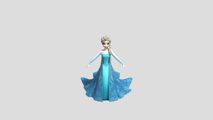 Frozen 3D Model