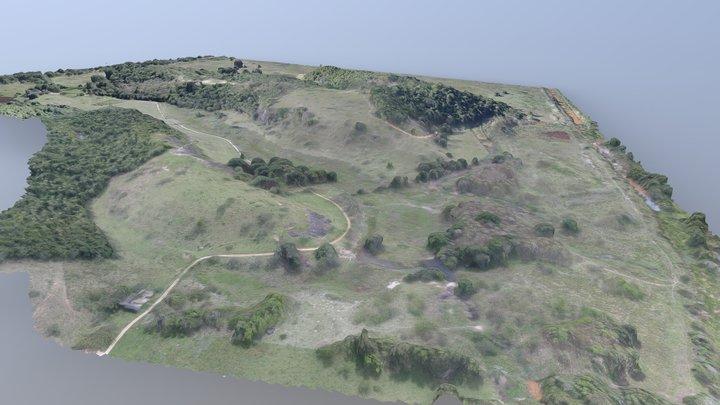 Vila Velha Terrain II 3D Model