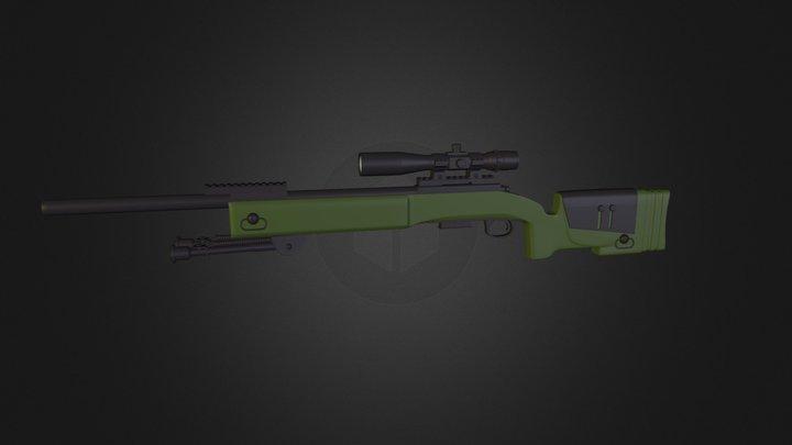 M40A5 3D Model
