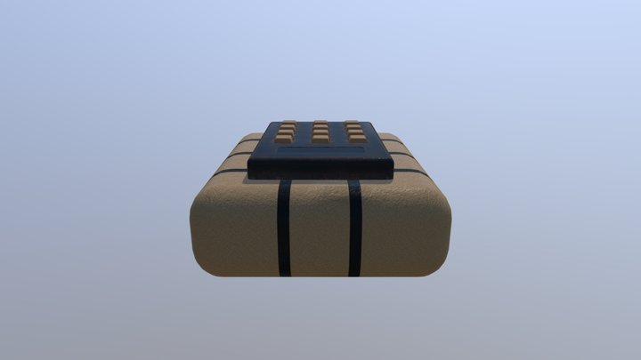 Bombe07parted 3D Model