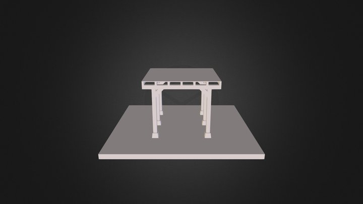Portic 3D Model