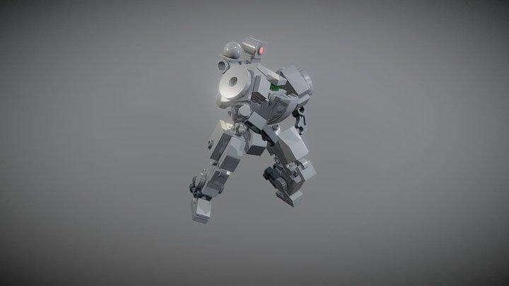 Frame M1 JAGUAR poses 3D Model