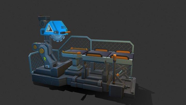 Adv Masonry Table 3D Model